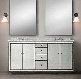 Strand Mirrored Bath Collection   Restoration Hardware