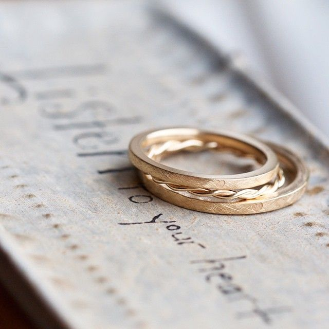 bespoke wedding bands by Michaela Roemer #MichaelaRoemer