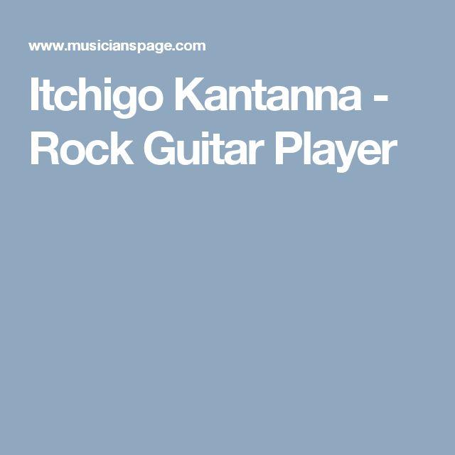 Itchigo Kantanna - Rock Guitar Player