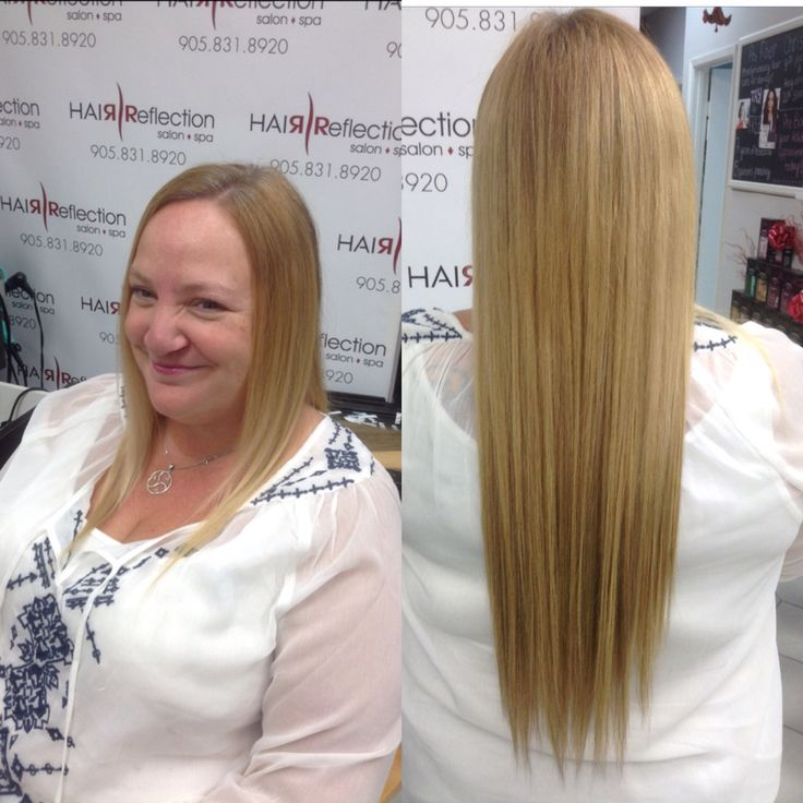 #tape#extensions#blonde#before#aftershort#long#hairreflection#salon