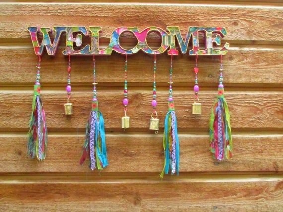 Outdoor Welcome Sign Front Door Decor Front Door Decoration Front Door Sign Hanging Welcome Sign Front Porch Decor Housewarming Gift Welcome Signs Front Door Outdoor Welcome Sign Front Door Decor