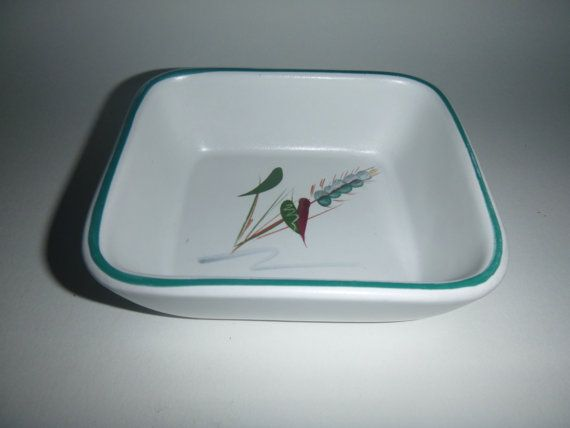 VINTAGE DENBY GREENWHEAT small serving dish by getgiftideas