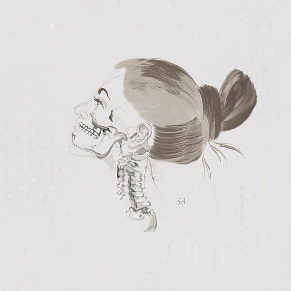 OF FLESH & BONE by Sophia Ahamed, via Behance