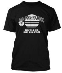 BathroomWall T-shirts -   Beach Boys inspired  - Pendletones