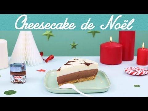Cheesecake de Noël, à la vanille et au Nutella® - nutella.com
