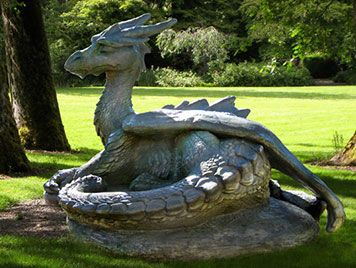 Image result for friendly dragon sculpture
