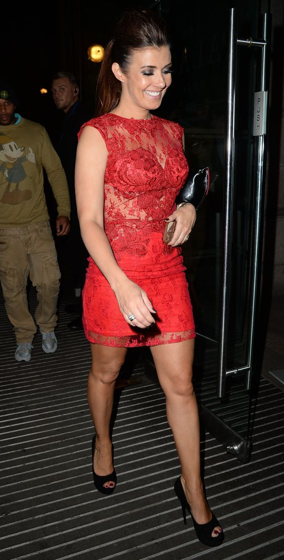 Kym Marsh – Miss Manchester Finals 07.05.15 // always loverly legs and well filled top: