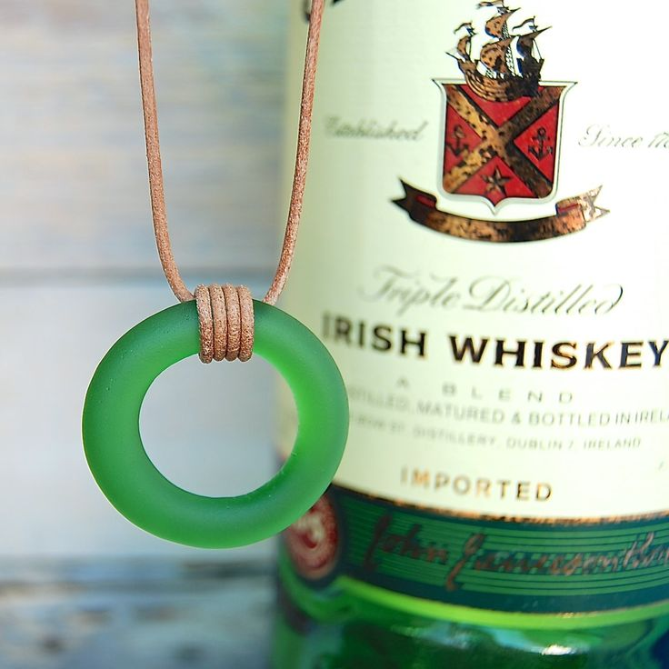 """Repurposed from a Jameson whisky bottle // For when """"neat"""" means something more than """"cool."""""""