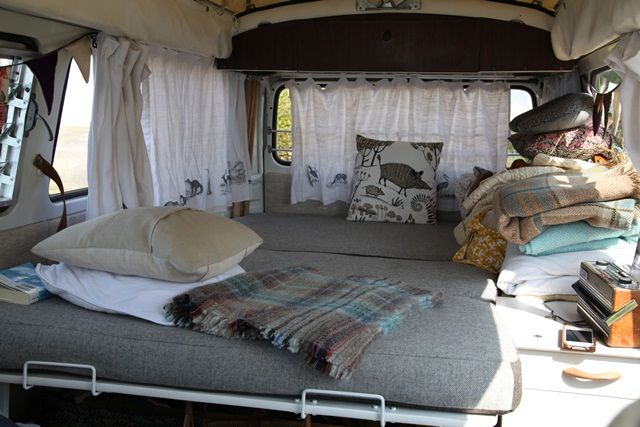 17 best images about i want a vw bus on pinterest for Van interior designs