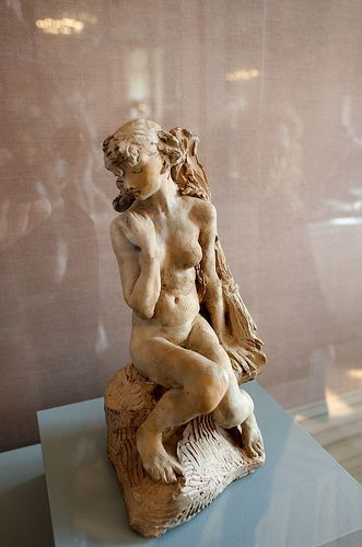 Camille Claudel - seated figure - sculpture - for the pool house - someday - #S0FT PIN MIX