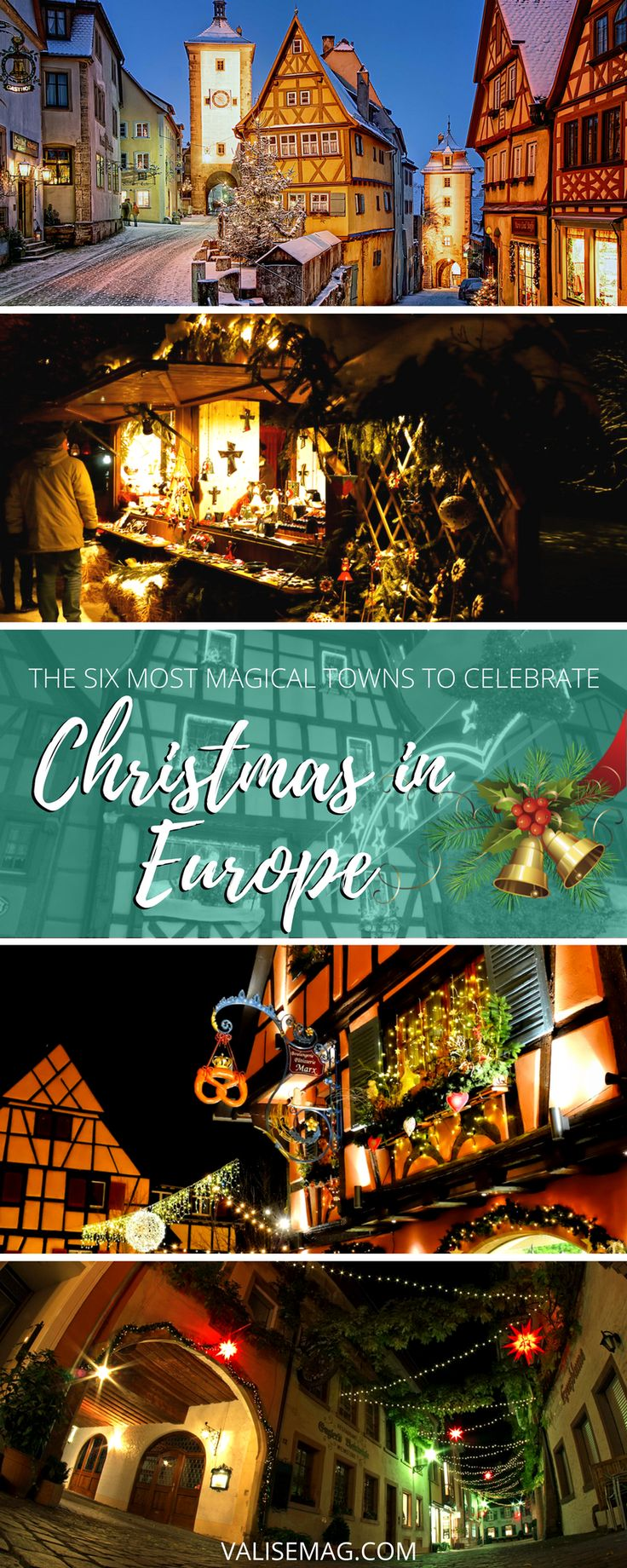 Christmas in Europe Pin