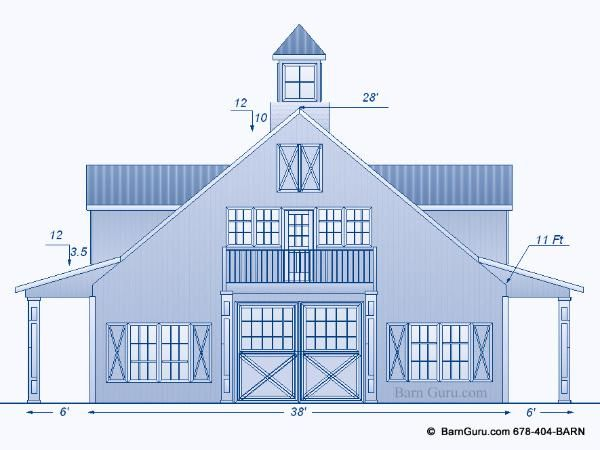 Horse barn plans with living quarters 5 stalls 3 for 8 stall barn plans