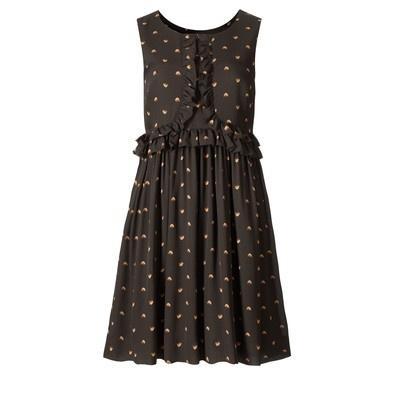 oral kiely- lovebirds dress: Kiely Dress, Orla Kiely, Lovebirds Silk, Sleeveless Dresses, Lovebirds Dress, Lovebird Dress, Georgette Sleeveless, Tiny Lovebirds, Kiely Tiny