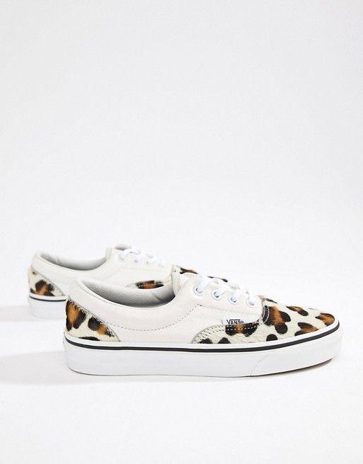 4b27d2679f Vans Leopard Print Era Sneakers
