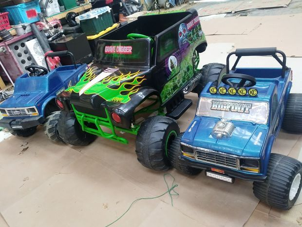 Battery Upgrade for 24v Grave Digger Power Wheels