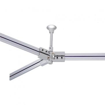 Flexibler Y-Verbinder für LINUX LIGHT, silbergrau / LED24-LED Shop