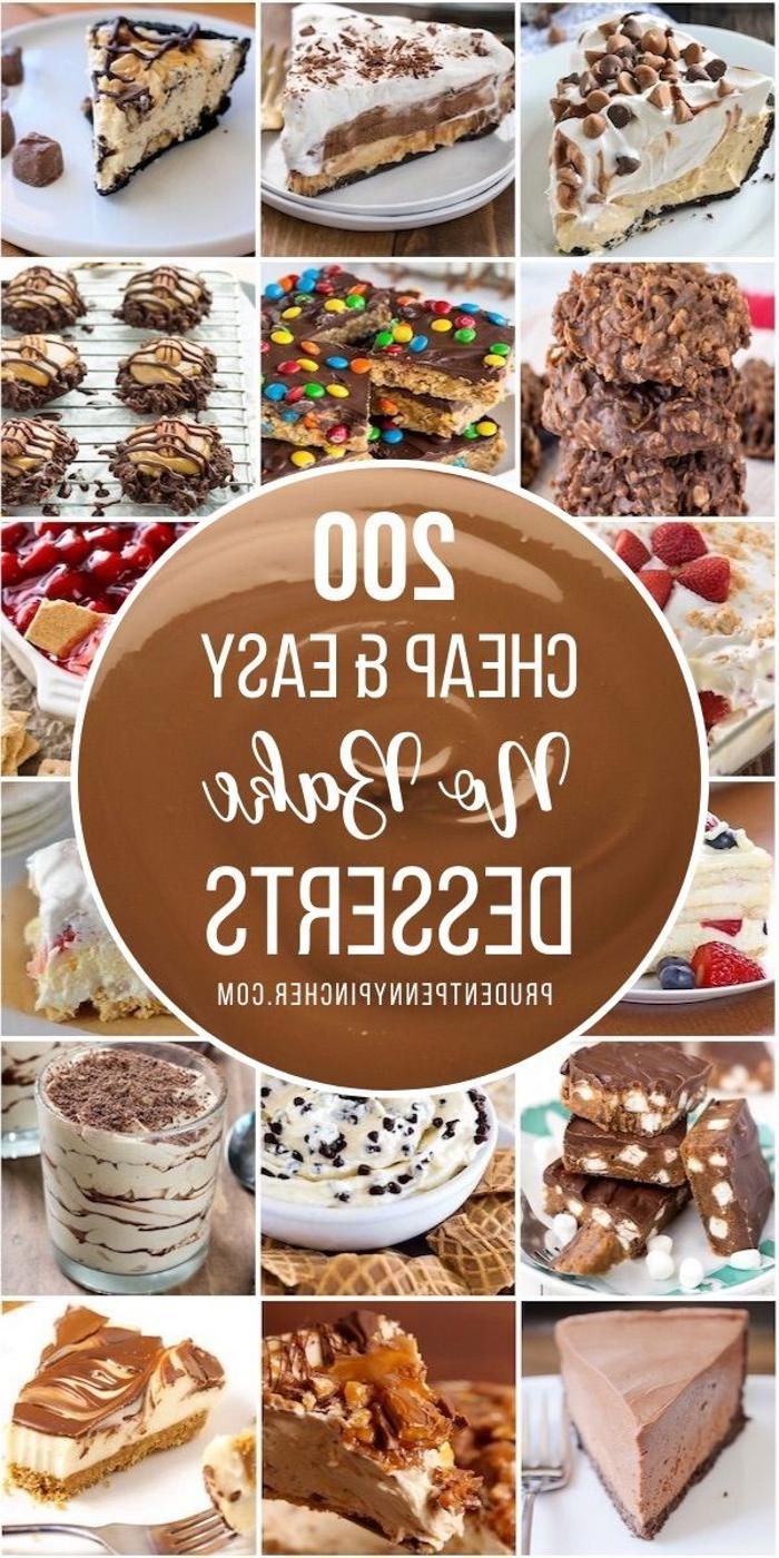 Satisfy Your Sweet Tooth With One Of These Cheap And Easy No Bake Desserts From Quick No Ba Summer Dessert Recipes Healthy Desserts Easy Easy No Bake Desserts