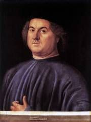 Alvise Vivarini, ritratto virile, 1497