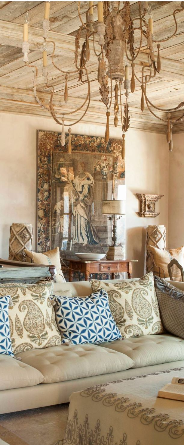 Old World Mediterranean Italian Spanish Tuscan Homes Decor Design Pinterest