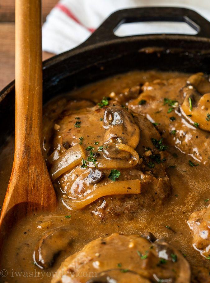 30 Minute Salisbury Steak Recipe Recipe In 2020 Salisbury Steak Recipes Homemade Salisbury Steak Recipes