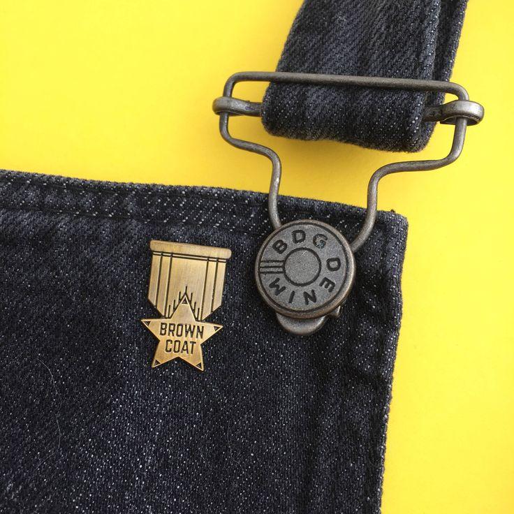 Browncoat Enamel Pin