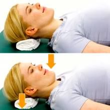 Watch how to train your neck muscles with the best two neck pain exercises to do at home or work to heal a trapped nerve pain or cervical disc herniation. My PT trained me to do this it's amazing!