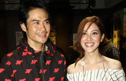 "Although filming for ""Blue Veins"" has ended, Kevin Cheng plans to continue to see Grace Chan and ask her out to dinner."