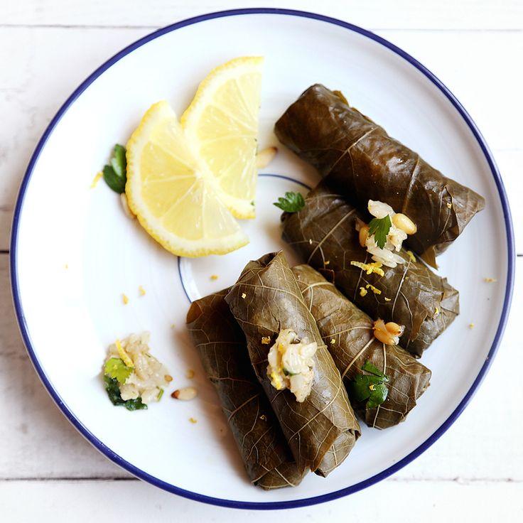 A CONSTELLATION OF VITAL PHENOMENA book club menu: Vegan dolma via Divine Healthy Food