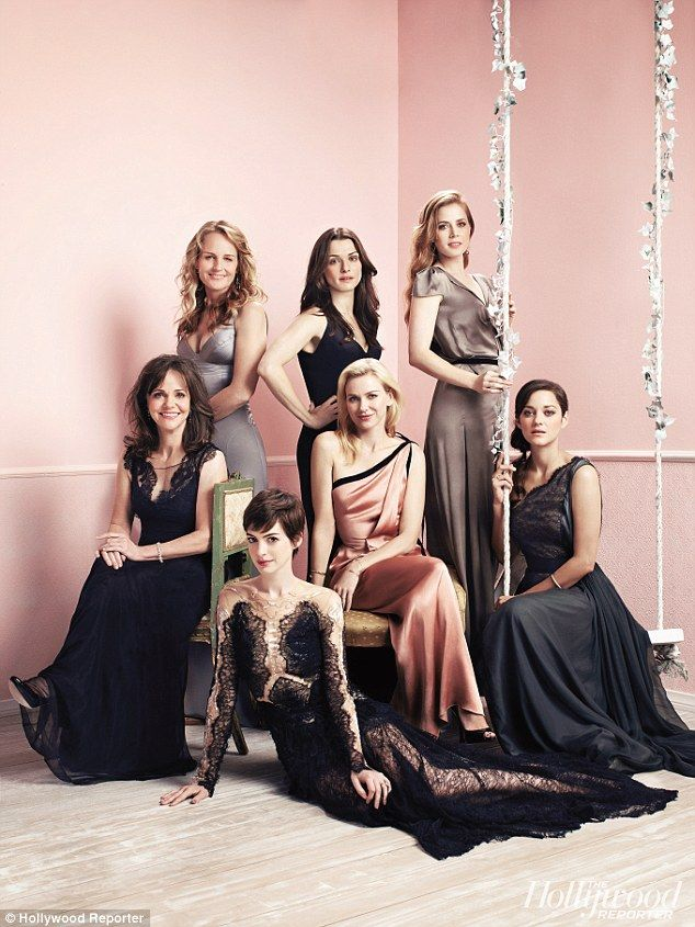 I think I love every single dress in this picture - and each of these actresses are amazing