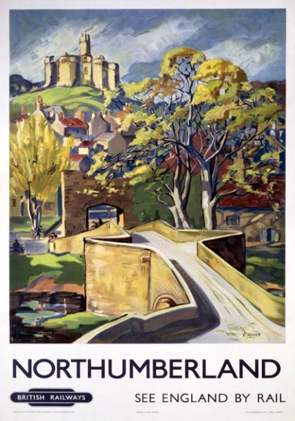 Northumberland - I would like this poster on our wall