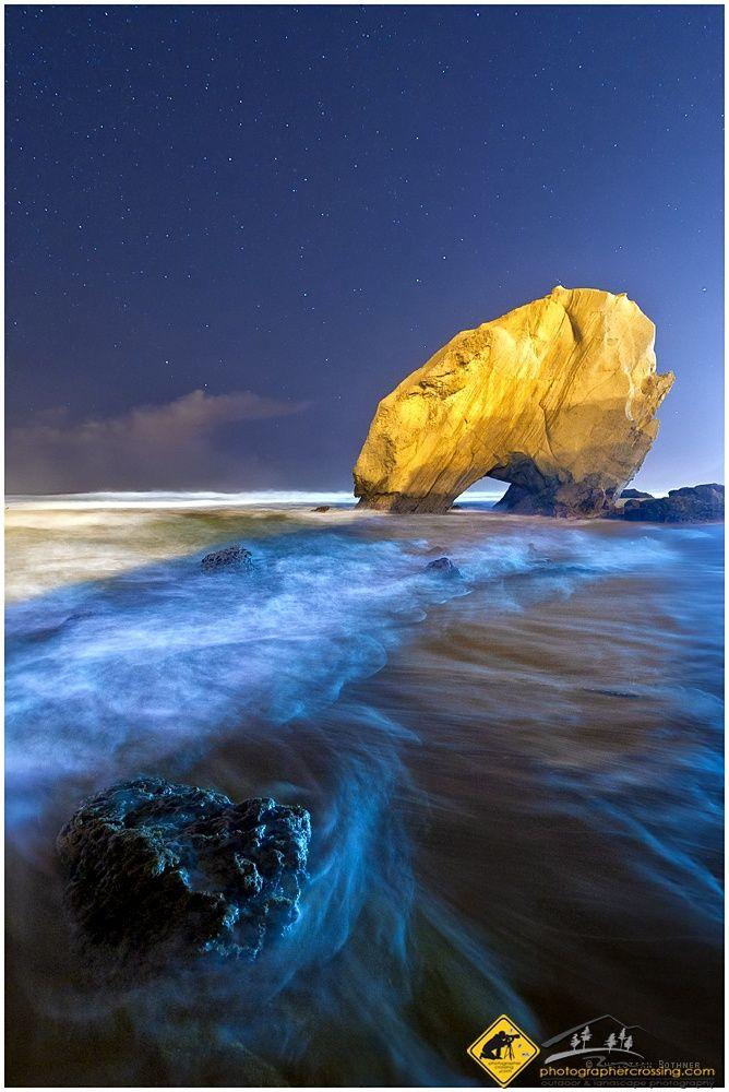 Praia Azul caught beautifully.Portugal