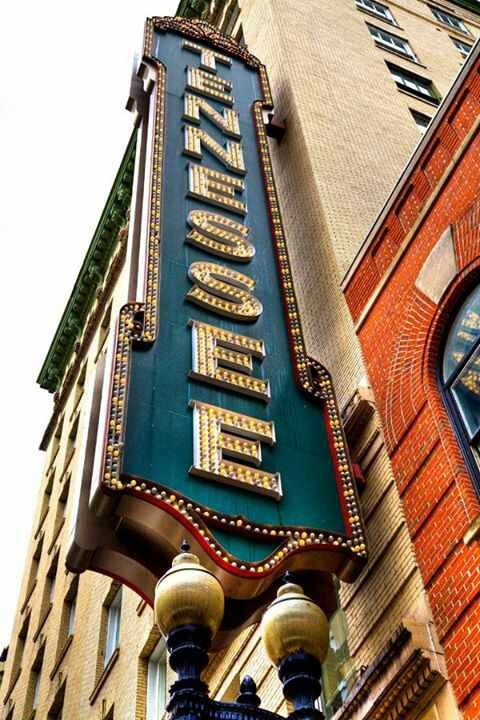 Tennessee theatre in Knoxville :)