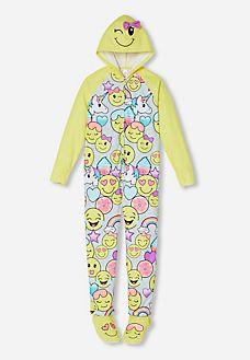 Hooded Emoji Onesie