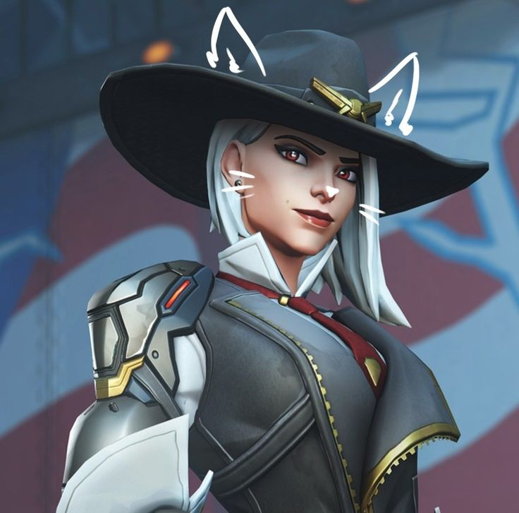 Overwatch Ashe Overwatch cats, Overwatch tracer
