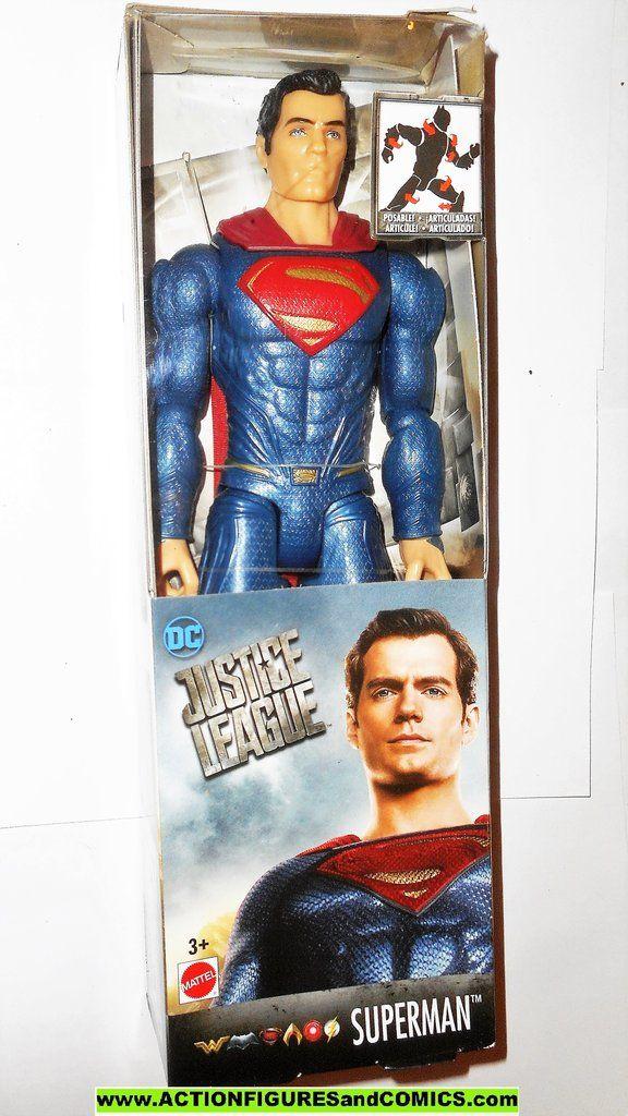 Dc Universe Movie Justice League Superman 12 Inch Classics Mib Moc Superman Universe Movie Justice League