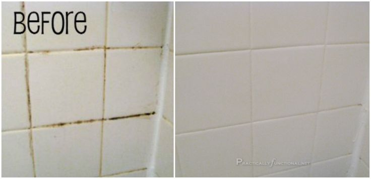 If the grout in your bathroom tile is making your cringe a little bit, it's time for a cleaning. And if your grout looks anything like Practically Functional's, then you're going to need her secret 2-ingredient cleaning formula that made her shower look...
