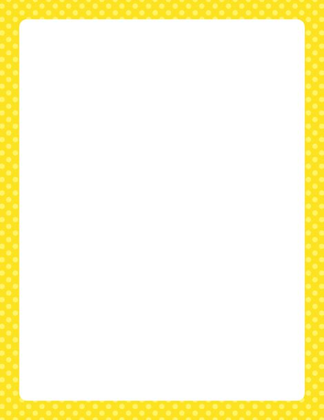 yellow frame clipart - photo #45