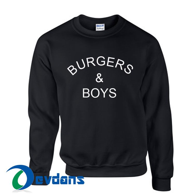 Tag a friend who would love this!     $23.99    Buy one here---> https://www.devdans.com/product/burgers-boys-sweatshirt-unisex-adults-size-s-2xl/
