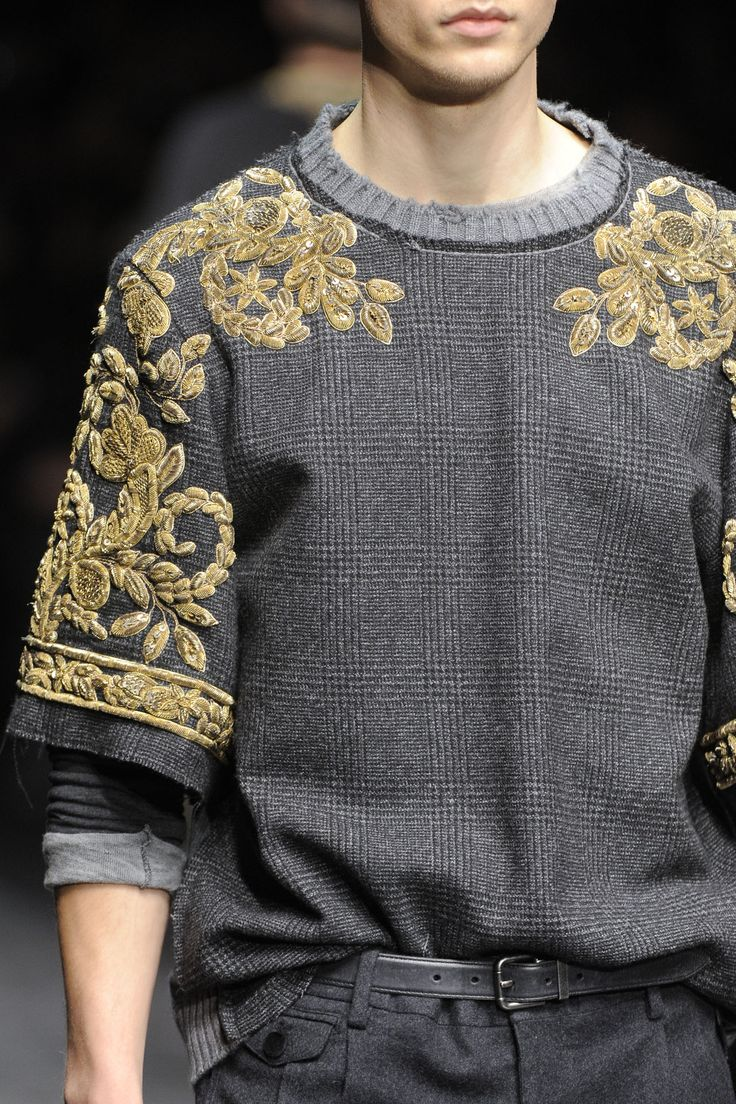 cottontee:  Dolce & Gabbana Fall/Winter 2012