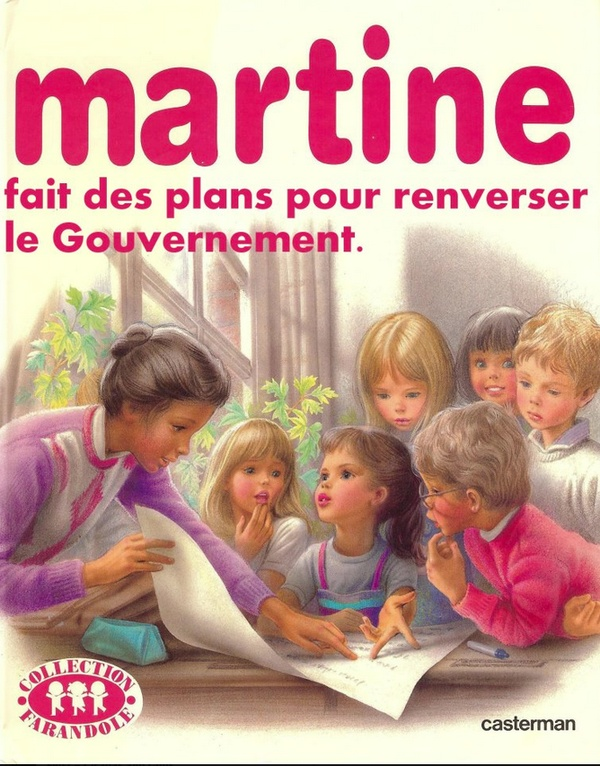 Même Martine a envie de s'en mêler. ggi