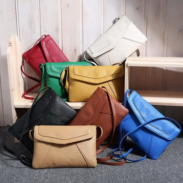 Casual Vintage Women Cross Body Messenger Leather Bags