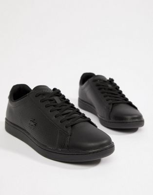 new concept 3109d 248e2 Lacoste Carnaby Evo 318 7 trainers in black   Zapatillas y Zapatos    Pinterest   Lacoste, Black y Trainers