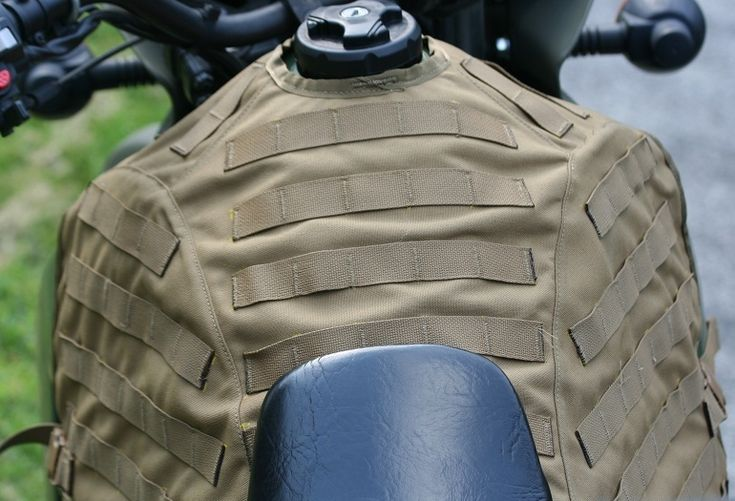 Tank bags for dual sport motorcycles
