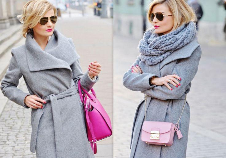 ania zając, style, fashion, stylizacja, Mango, grey, szary,