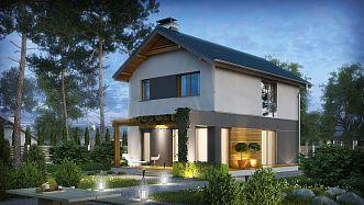 Szukasz domu na bardzo wąską działkę? Zobacz ofertę blisko 80 projektów Z500, które doskonale sprawdzą się w nietypowych warunkach zabudowy...