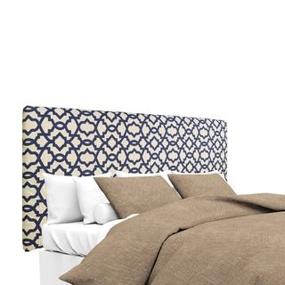 Shop for MJL Furniture Alice Navy Blue Natural Linen Upholstered Headboard. Get free delivery at Overstock.com - Your Online Furniture Shop! Get 5% in rewards with Club O!