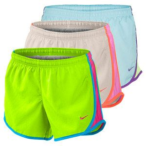 "The Nike Girls' Tempo Running Short is the classic running short designed for young athletes! This comfy short has a woven outer layer and an interior short with a brief liner and coin pocket. The contrast binding and mesh side panels add a great look and high-performance benefits to this super-wearable short. Technical Benefits: Dri-fit Fabric: 100% Polyester TaffetaInseam: 2.6""For information regarding sizes, please refer to our sizing chart."