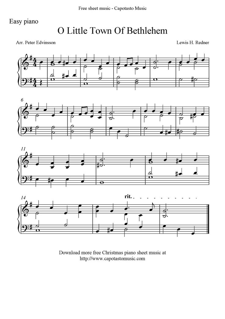 It's just a photo of Adorable Easy Piano Christmas Music