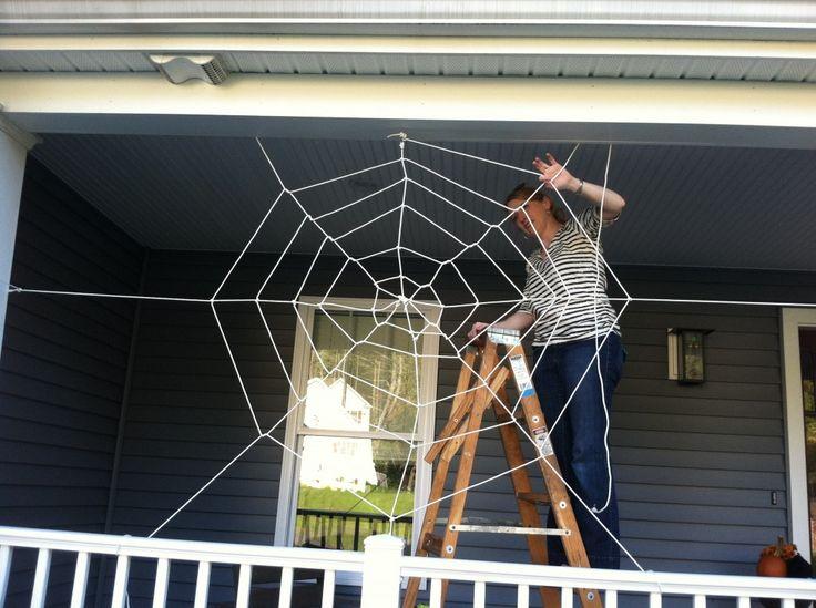 178 best Halloween images on Pinterest Halloween foods, Halloween - giant spider halloween decoration
