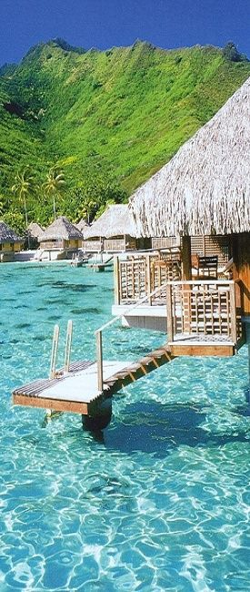 Moorea, French Polynesia...... Just need to find the right man to go there with ;)